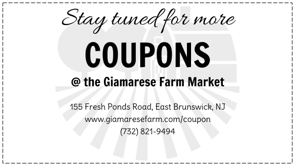 Giamarese Farm Weekly Coupon